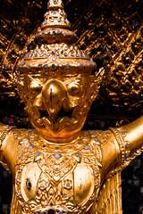 Gurada statue of Grand Palace Bangkok, Thailand.