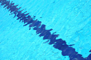 Keuken foto achterwand Kristallen Swimming pool, detail of water suitable for backgrounds