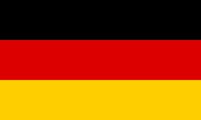 Fototapete - Drapeau-Allemagne