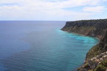 Formentera mediterranean sea from La Mota