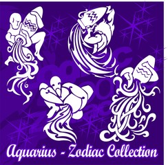 Aquarius.Tribal Zodiac.