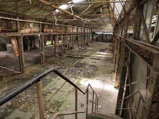 Fabrik-Ruine