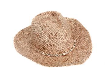 Woman's western style straw hat