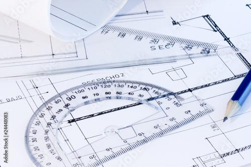 Arquitectura y dise os planos fotos de archivo e for Arquitectura planos y disenos