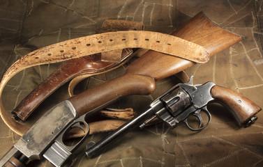 Pistol Rifle Holster Belt