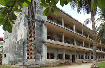 S21, former prison in Phnom Penh, Cambodia