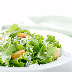 salad with thin focus