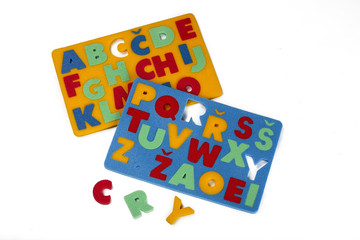 Didactic games - alphabets