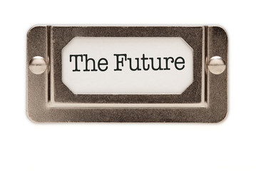 The Future File Drawer Label