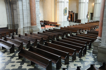Bench of eglise