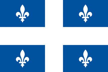 Wall Mural - Drapeau-Québec