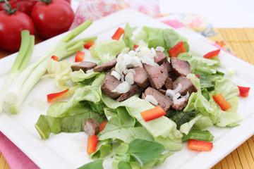 Salat mit Leber