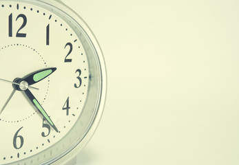toned alarm clock