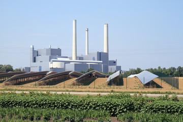 heizkraftwerk-nord, photovoltaik, münchen