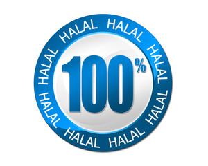Cachet 100 % Halal