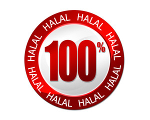 100 % halal