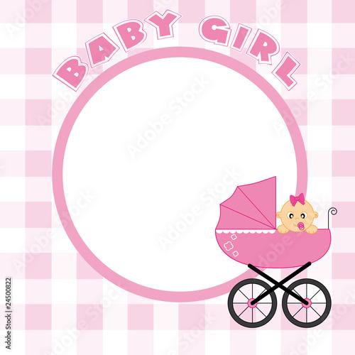 quot marco de beb u00e9 ni u00f1a para foto o texto quot  im u00e1genes de pink baby owl clip art pink and grey owl clip art