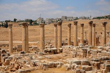 Colonnes de Jérash