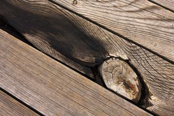 Old Wood Background. Old wooden planks.