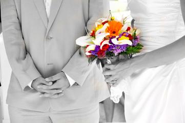ramo de flores casamiento