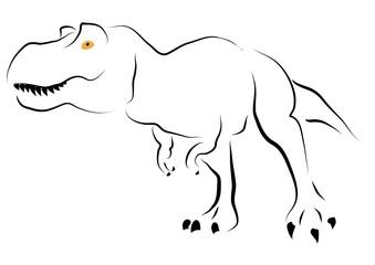 Tiranosaurio Rex estilizado