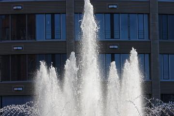 Wasserspiele Springbrunnen mit Fontäne