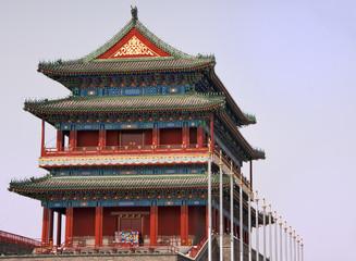 Beijing Tiananmen Temple.