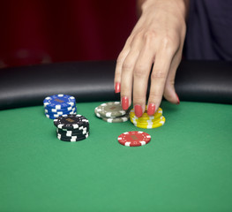 casino card chip