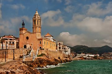 Church of San Bartolomé y Santa Tecla, Sitges, Spain