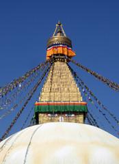 Grosse Stupa in Kathmandu, Nepal