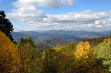 Blue Ridges of Blue Ridge Parkway