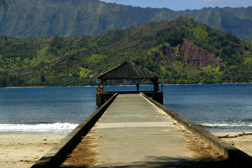 Dock at Hanalei