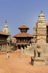 Bhaktapur, Durbar Square, Nepal.