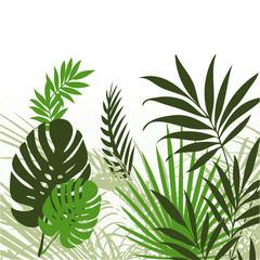 Tropical Leaves 01