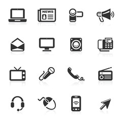 Communication Icons 1 - minimo series
