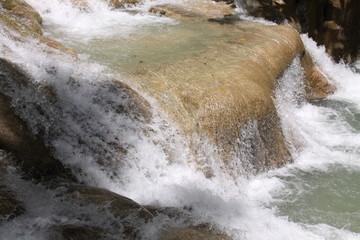 Autocollant pour porte Plage Dunn's River Falls in Ocho Rios auf Jamaica