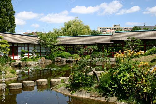 Jardin japonais nantes photo libre de droits sur la banque d 39 images image 24571247 for Jardin japonais nantes
