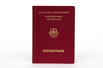 Deutscher alter Reisepass