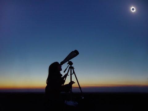 Total Solar Eclipse observation.