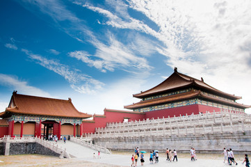 In de dag Beijing The Forbidden City