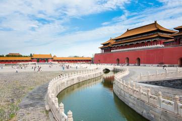 Fotobehang Beijing The Forbidden City