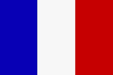 Nationalflagge Frankreich