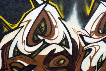 Shining graffiti