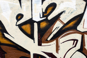 Bronze grraffiti