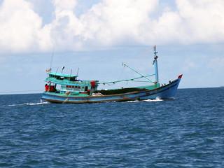 Fishing boat, island Phu Quoc, Vietnam 2