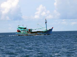 Fishing boat, island Phu Quoc, Vietnam 3