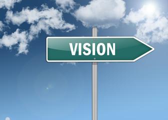 "Signpost ""Vision"""