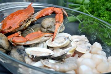 Preparing to Cook Seafood
