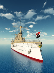 Historisches Kriegsschiff