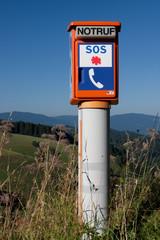 Notrufsäule SOS